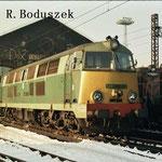 SU45-036 przed halą napraw,4.4.1992.Foto:R.Boduszek.