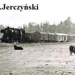 20.6.1986 poc. zbiorowy z Jeleniej G. na szlaku Gryfów-Mirsk, foto: M.Jerczyński, ze zb. W.Przybylskiego