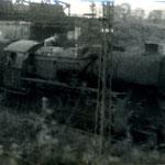 Ty2 z pociągiem towarowym z Karpacza ok .1968, foto: H.Magoń