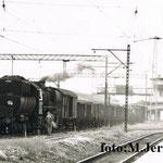 """20.6.1986 Jelenia G. poc. zbiorowy do Mirska gotów do drogi, foto: M.Jerczyński, z """"Kronika MD J. Góra od roku 1982"""""""