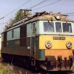ET21-375 na punkcie kontrolnym w Jeleniej Górze w VI.1994, foto H. Magoń