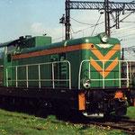 SM42-756 na stacji Jelenia Góra maj 1995, foto: H.Magoń