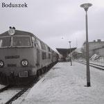 Stacja Lwówek Śl. SP45-048 w 1989r.Foto:R.Boduszek