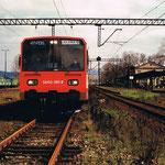 SA 102-001 podczas jazdy promocyjnej do Lubawki w 1994 r. ze zbiorów R. Milewskiego