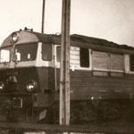 MD Kędzierzyn Koźle, jeleniogórska SU46-38 na stacji paliw ok.1983 ze zb. Marka Wilczyńskiego