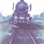 Ty2-639 ok. 1981 roku na stacji Gryfów.  . Ze zbioru Stanisława Brodziaka