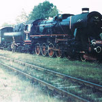 Ty2-639 ok. 1981 roku na stacji Gryfów. Ze zbioru Stanisława Brodziaka