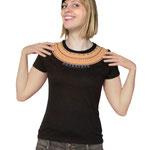 T-Shirt Nofretete-Kragen