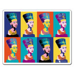 Mousepad Pop-Art Nofretete