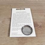 Verpackung für Münzrepliken (Rückseite)