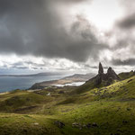 Old Man of Storr from above (Isle of Skye, Schottland)