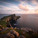 Neist Point at Sunset (Isle of Skye, Schottland)