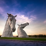 The Kelpies - Colors (Falkirk, Schottland)