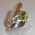 925 Silber / Peridot