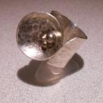 925 Silber / Kügelchen vergoldet