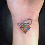 ダイヤモンドのタトゥー