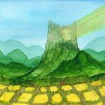 夢に見た山