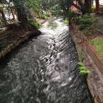 西川、ここだけ流れが速い