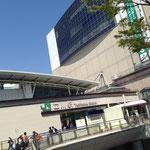 当日の立川駅