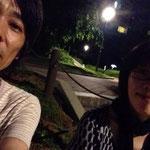 大都市岡山の夜景(部分)