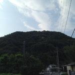 子供の頃はこの山の向こうが鳥取だと思ってた