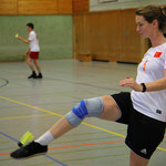 Silke Weustermann im Spiel