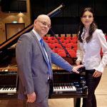mit dem Jazzpianisten und der Konzertpianistin Christoph und Tamara Spendel