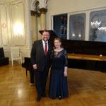 Lilya Zilberstein mit Werken von Tschaikowsky und Brahms im Hotel Hirsch.