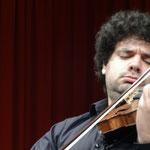 Jason Keramidis ist erster geiger bei den Münchener Philharmonikern