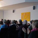 Das Publikum gut gemischt, von ganz jung bis sehr erfahren - eine Freude!