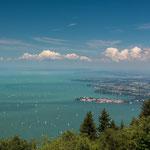 Dreiländereck am Bodensee, Deutschland, Österreich und Schweiz