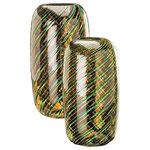 VENINI Vasen A CANNE RITORTE, H.29 cm  € 850,00