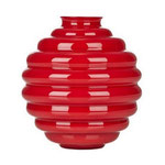 VENINI, Vase DECO, H.29 cm, rosso, € 875,00
