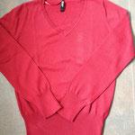 € 3,50 Als nieuwe trui 100% katoen Merk : Colours of the world Rood maat L
