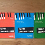 € 7,50 deel 1 en 2 en 3 Lesboek voor Electronisch Orgel