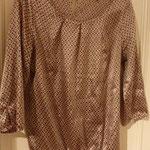 € 5,00 Mooie bruinachtige blouse Merk : Lola&Liza maat 36