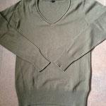 € 5,00 Als nieuwe trui 100% katoen Merk : Colours of the world Groen Maat M