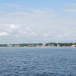Blick über die Schlei auf Schleswig
