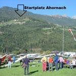Landeplatz Sand in Taufers - Startplatz Ahornach
