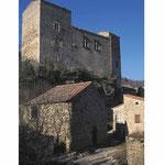 Boussagues, le château