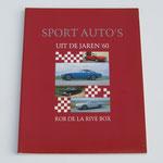 Sport auto's uit de jaren '60. Rob de la Rive Box.