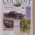 Voiture's Courant. Een tweewekelijks blad uitgegeven vanaf 1988. Nummer 1 uit 1992.