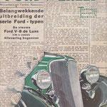 Ford Wereld, 1933.