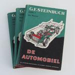 De Automobiel. Deel 1, 2 en 3. G.F. Steinbuch, 1962. Deze boeken (zonder stofhoes) zijn te koop, prijs samen € 20,00 email: automobielhistorie@gmail.com