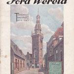 Ford Wereld, een exemplaar uit 1931.