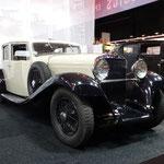 Hispano-Suiza HS6 Junior Faux Coupé uit 1932 met een carrosserie van VanVooren. (Interclassics Maastricht 2020)
