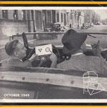 Auto Post, maandblad, dit exemplaar is uit 1949.