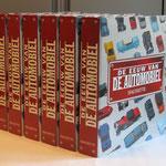 De Eeuw van de Automobiel. Verzamelbanden ingedeeld in verschillende rubrieken. Uitgegeven door Hachette.