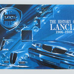 The History of Lancia. 1906-1989.