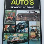 Auto's in woord en beeld. Peter Roberts, 1973.